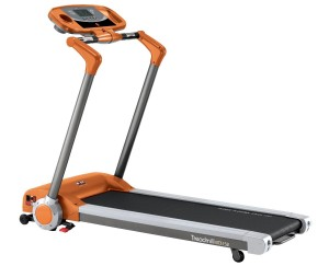 Running machine from Body Sculpture, the BT3152 model in orange